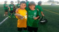 De padre futbolista que militó en Ecuador y México, Luka Romero (camiseta verde) a mostrado ser el llamado sucesor de Lionel Messi.