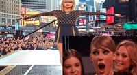 Anteriormente la cantante Beyonce también sufrió un percance en pleno concierto.
